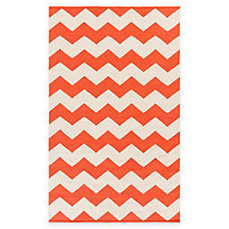 Artist Weavers Vogue Collins 4' x 6' Area Rug in Coral