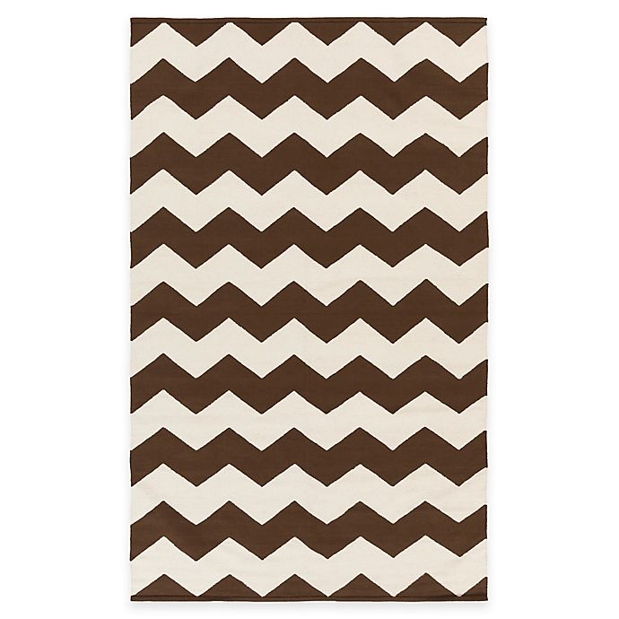 Alternate image 1 for Artist Weavers Vogue Collins 8-Foot x 10-Foot Area Rug in Brown