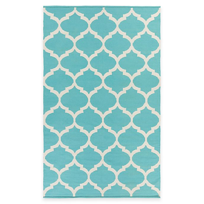 Alternate image 1 for Artist Weavers Vogue Everly 3-Foot x 5-Foot Area Rug in Teal