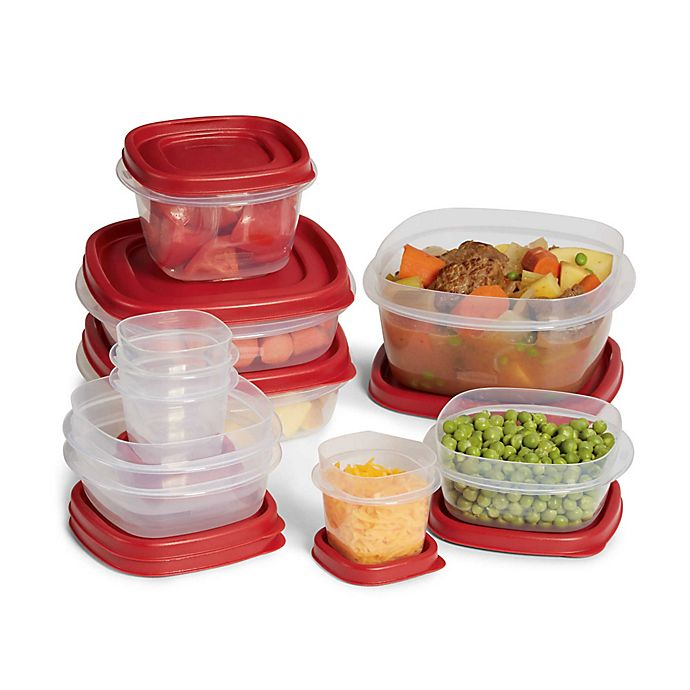 Alternate image 1 for Rubbermaid® Easy Find Lid™ 20-Piece Food Storage Set with Easy Find Lids