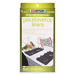 Range Kleen® 5-Pack Gas Stovetop Nonstick Liners