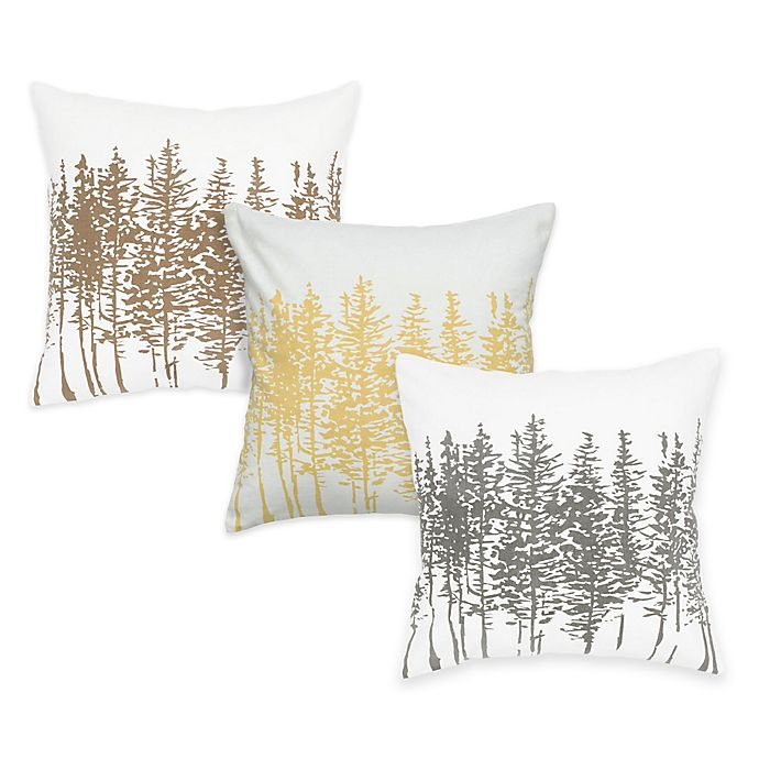 Alternate image 1 for Rizzy Home Forest Square Throw Pillow