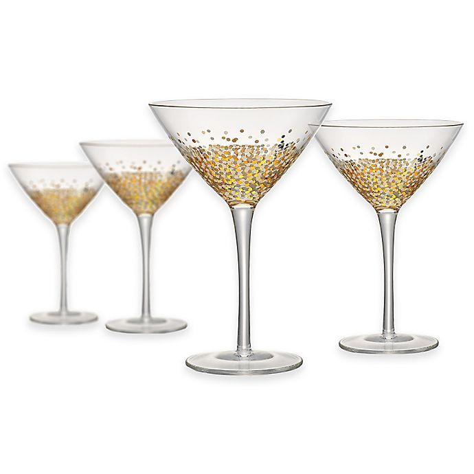 Alternate image 1 for Artland® Ambrosia Martini Glasses (Set of 4)