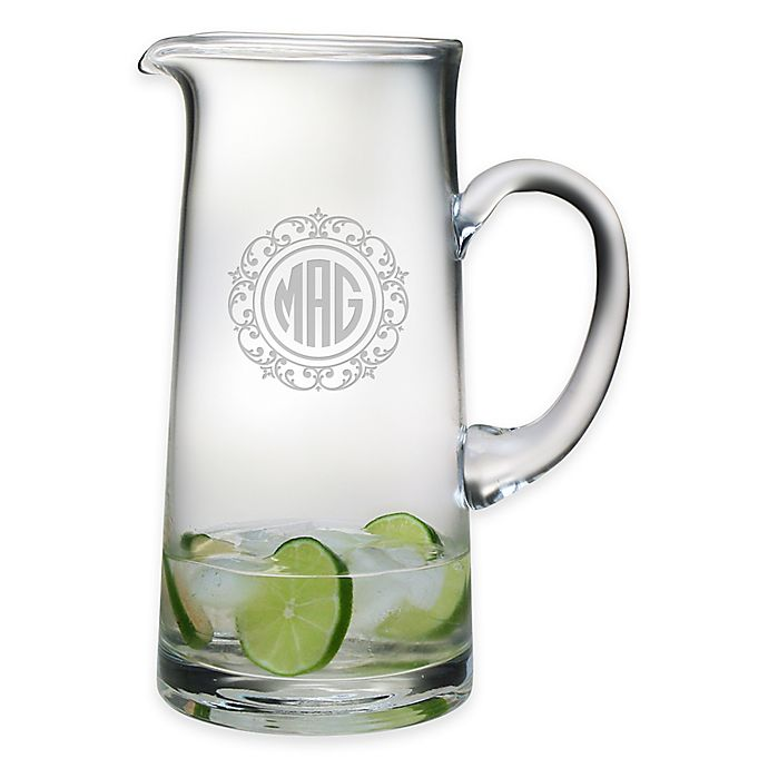 Alternate image 1 for Susquehanna Glass Lace Pitcher