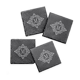 Vintage Slate Coasters (Set of 4)