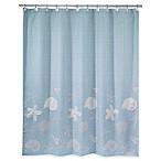 Avanti Sequin Shells Shower Curtain