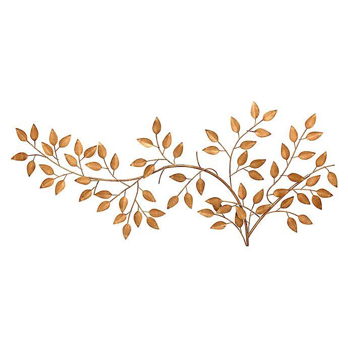 Alternate image 1 for Black Box 21-Inch x 47-Inch Metal Leaf Tree Branch Wall Art