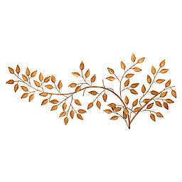 Black Box 21-Inch x 47-Inch Metal Leaf Tree Branch Wall Art