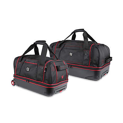 ful® Hybrid Rolling Duffle Bag in Black