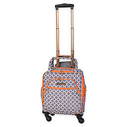 Jenni Chan Aria Broadway 15-Inch Spinner Underseat Luggage