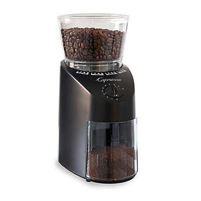 Capresso® Infinity Black Conical Burr Grinder