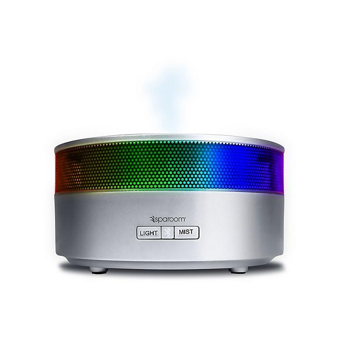 Alternate image 1 for SpaRoom® AromaHarmony™ Ultrasonic Diffusing Mister and Speaker