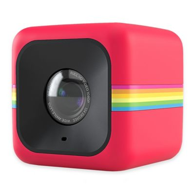 Polaroid Cube Lifestyle POLC3R HD Action Camera in Red