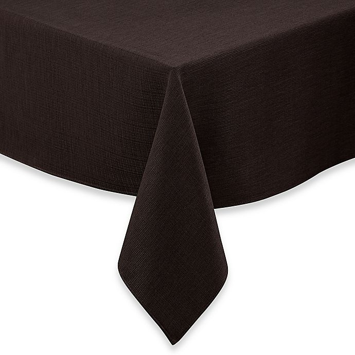 Alternate image 1 for Noritake® Colorwave 52-Inch Square Tablecloth in Chocolate