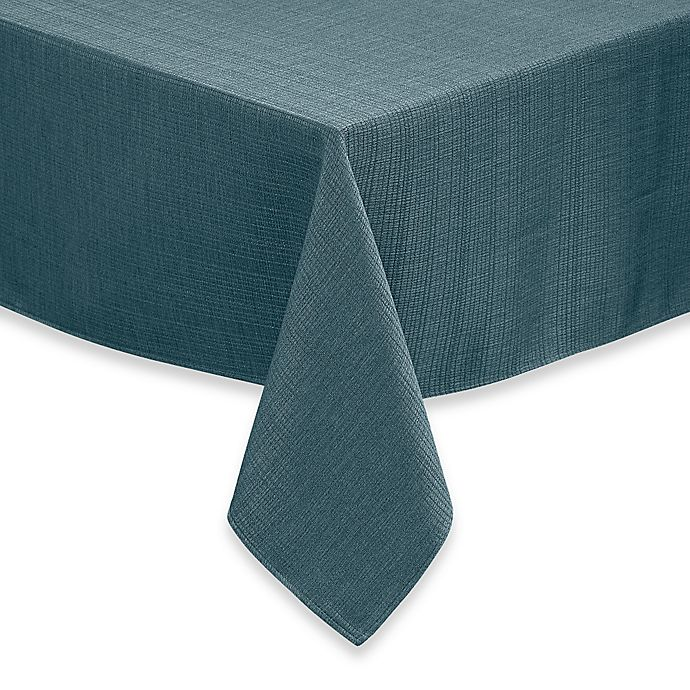 Alternate image 1 for Noritake® Colorwave 60-Inch x 84-Inch Oblong Tablecloth in Turquoise