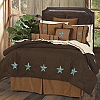 HiEnd Accents Laredo Full Comforter Set in Turquoise