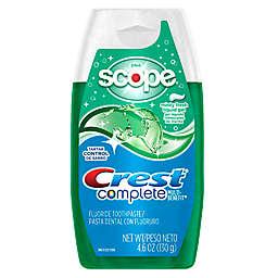 Crest® 4.6 oz. Complete Multi-Benefit Whitening + Scope Liquid Gel Toothpaste in Minty Fresh