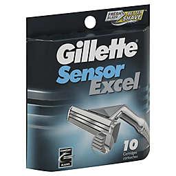 Gillette® Sensor® Excel 10-Count Men's Razor Blade Cartridges