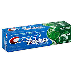 Crest® Complete 6 oz. Multi-Benefit Toothpaste Whitening Plus Extreme Herbal Mint Expressions