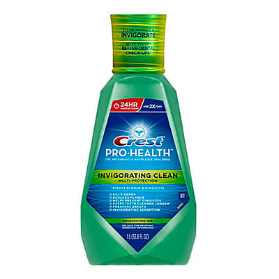Crest® Pro-Health™ 33.8 oz. Multi-Protection Invigorating Rinse in Clean Mint