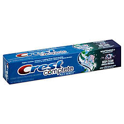 Crest® Complete 5.8 oz. Whitening + Deep Clean Effervescent Toothpaste in Mint