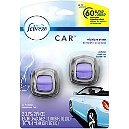 Febreze® 2-Count Car Vent Clip in Midnight Storm