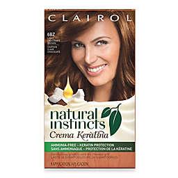 Clairol® Natural Instincts Crema Keratina Hair Color Light Chocolate Brown 6BZ Hazelnut Creme