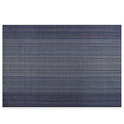 Pointelle Vinyl Woven Placemat in Blue