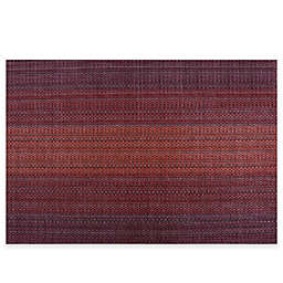 Pointelle Vinyl Woven Placemat in Red