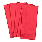Solid Buffet Napkins in Red (Set of 4)