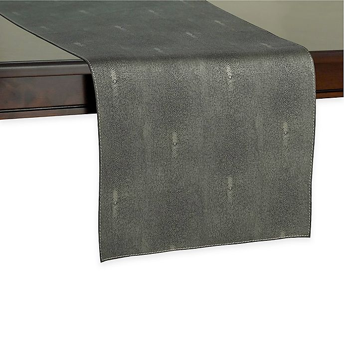 Alternate image 1 for Kenneth Cole Reaction Home Sutton Table Runner in Charcoal