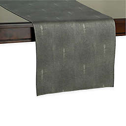 Kenneth Cole Reaction Home Sutton Table Runner in Charcoal