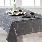 Origins™ Tribeca Microfiber 60-Inch x 120-Inch Oblong Tablecloth in Charcoal