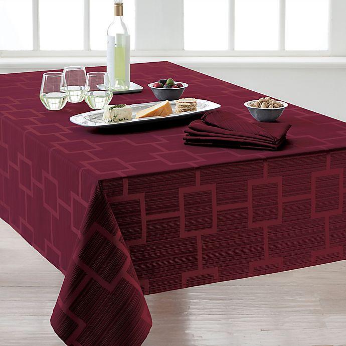 Alternate image 1 for Origins™ Tribeca Microfiber Tablecloth