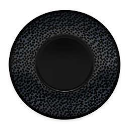 Noritake® Black on Black Snow Saucer