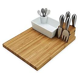 Picnic At Ascot Buxton Cutting Board and Tools Set