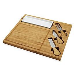 Picnic At Ascot Celtic 4-Piece Bamboo Cheese Board Set