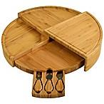 Picnic At Ascot 4-Piece Vienna Bamboo Serving Set