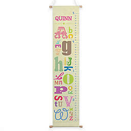 Girl Alphabet Growth Chart