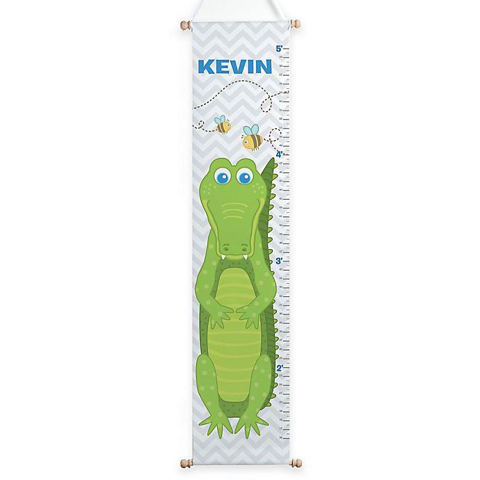 Alternate image 1 for Sweet Alligator Growth Chart