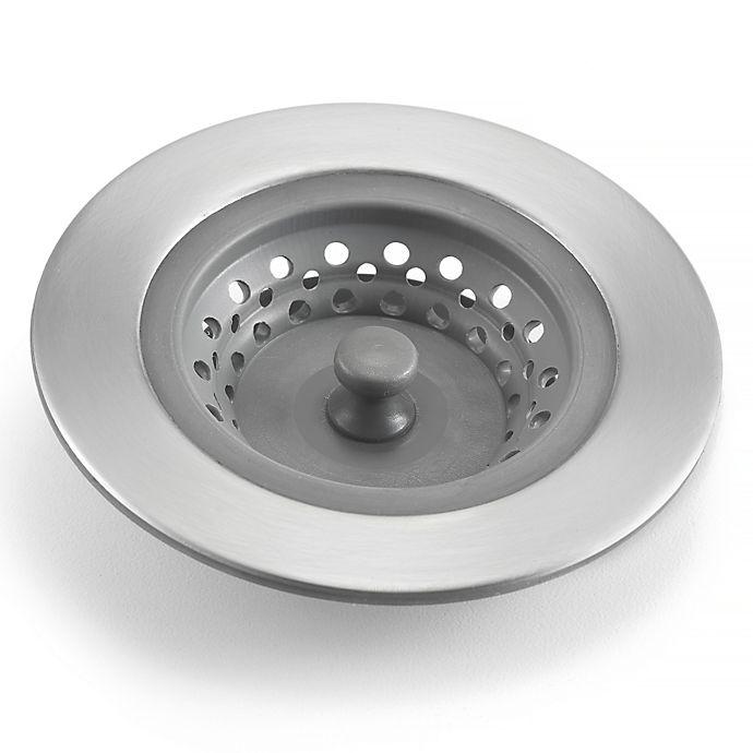 Polder 174 Pop Up Sink Strainer Stopper Bed Bath Amp Beyond