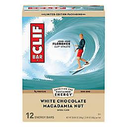 Clif Bar® 12-Pack White Chocolate Macadamia Nut 2.4 oz. Energy Bars
