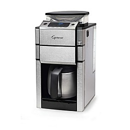 Capresso® Coffee TEAM PRO Plus 10-Cup Thermal Coffee Maker and Grinder in Stainless Steel