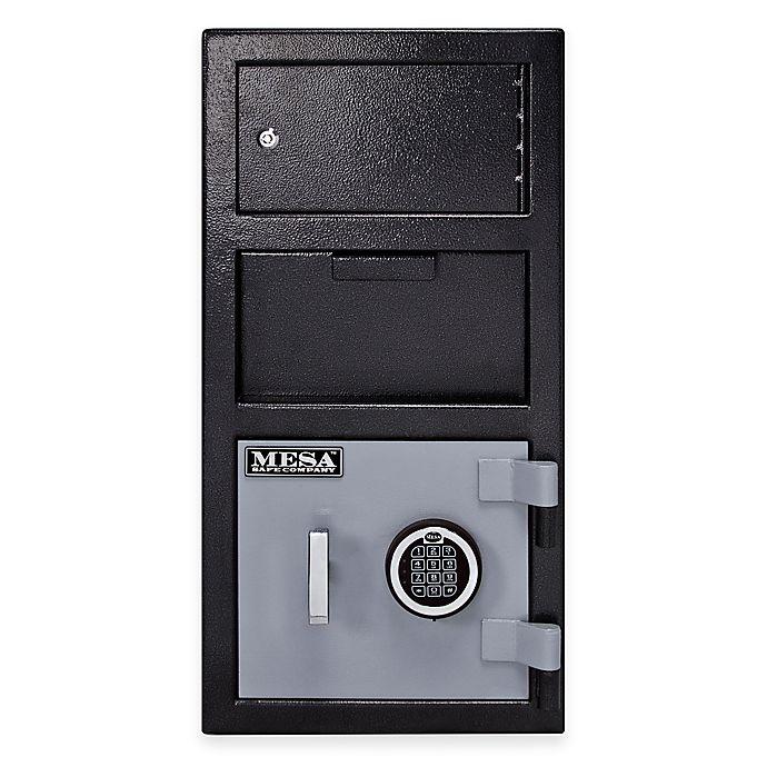 Alternate image 1 for Mesa Safe Company MFL2014E-OLK Depository Safe with Outer Locker & Electronic Lock