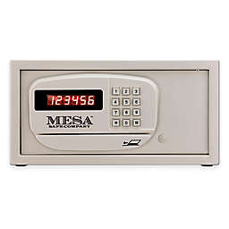 Mesa Safe Company MH101E Steel Hotel & Residential Safe with Electronic Lock in Cream