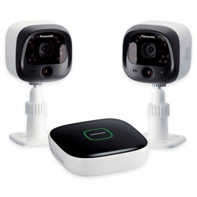 panasonic kx nh6002 w diy home surveillance camera kit. Black Bedroom Furniture Sets. Home Design Ideas