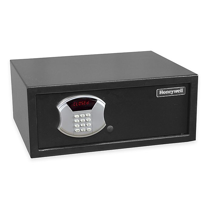Alternate image 1 for Honeywell 5105 Notebook Safe in Black