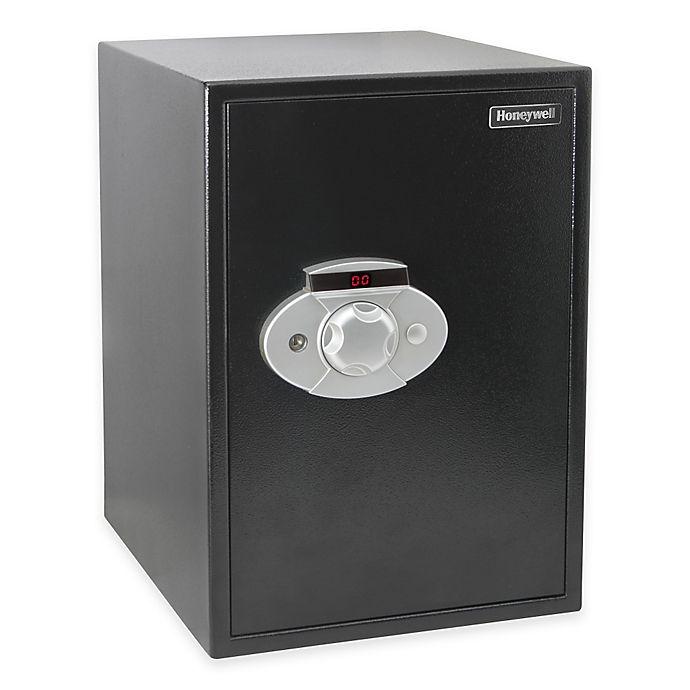 Alternate image 1 for Honeywell 5207 Safe in Black
