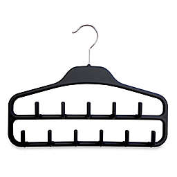 2-Pack Rubber Matte Belt Hanger in Black