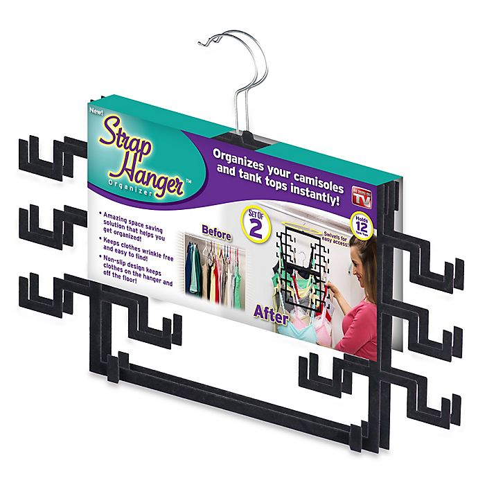 Alternate image 1 for Strap Hanger™ 2-pack Organizer